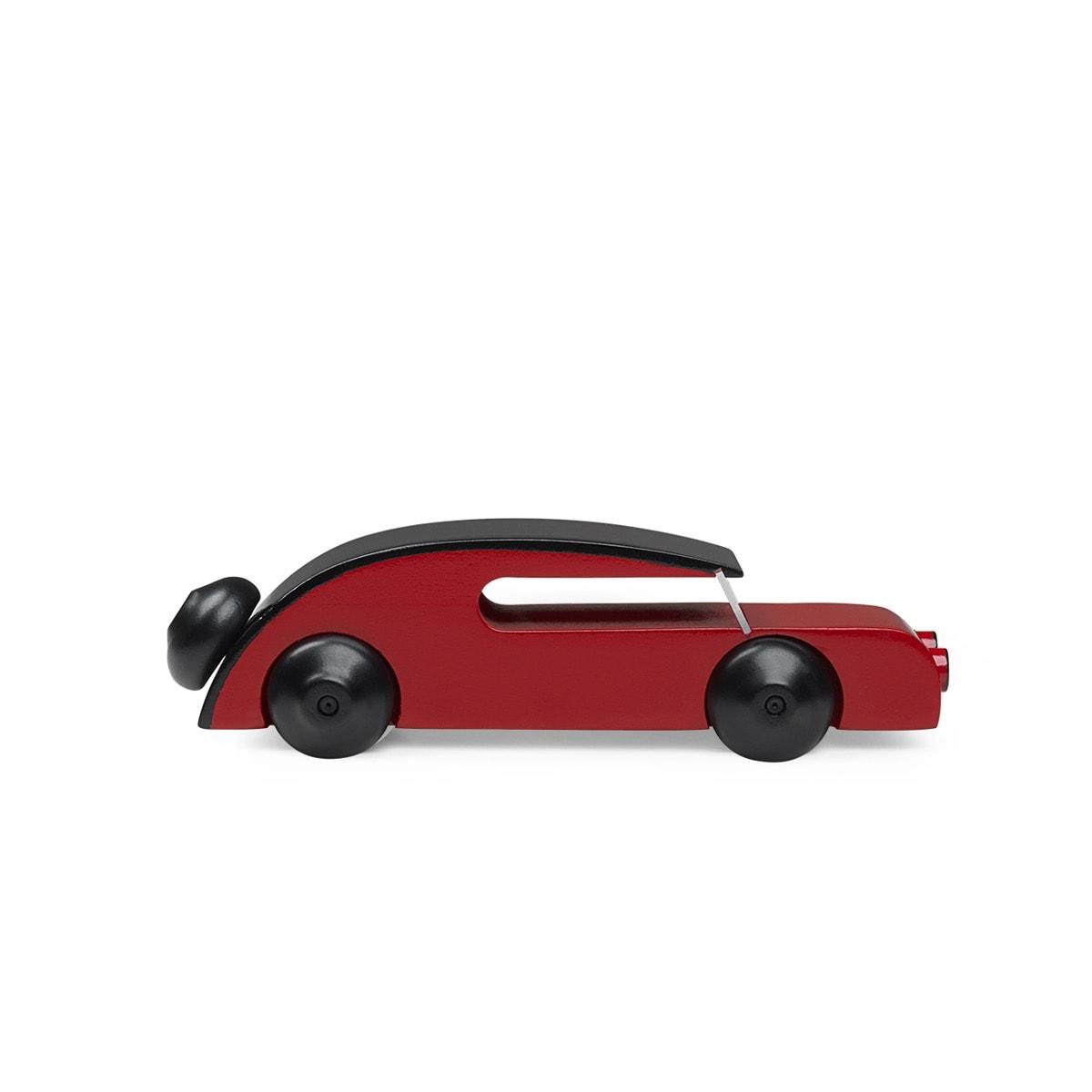 Automobil sedan röd