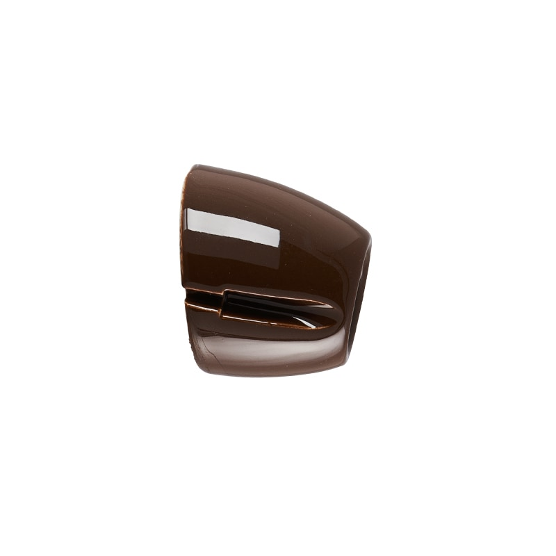 Basic vägglampa brun IP20 sned sockel