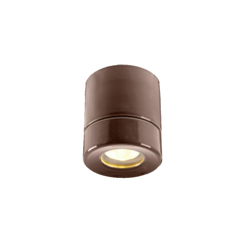 Light On Downlight taklampa bastu brun IP44