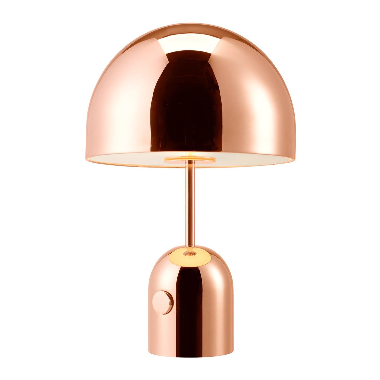 Bell bordslampa koppar