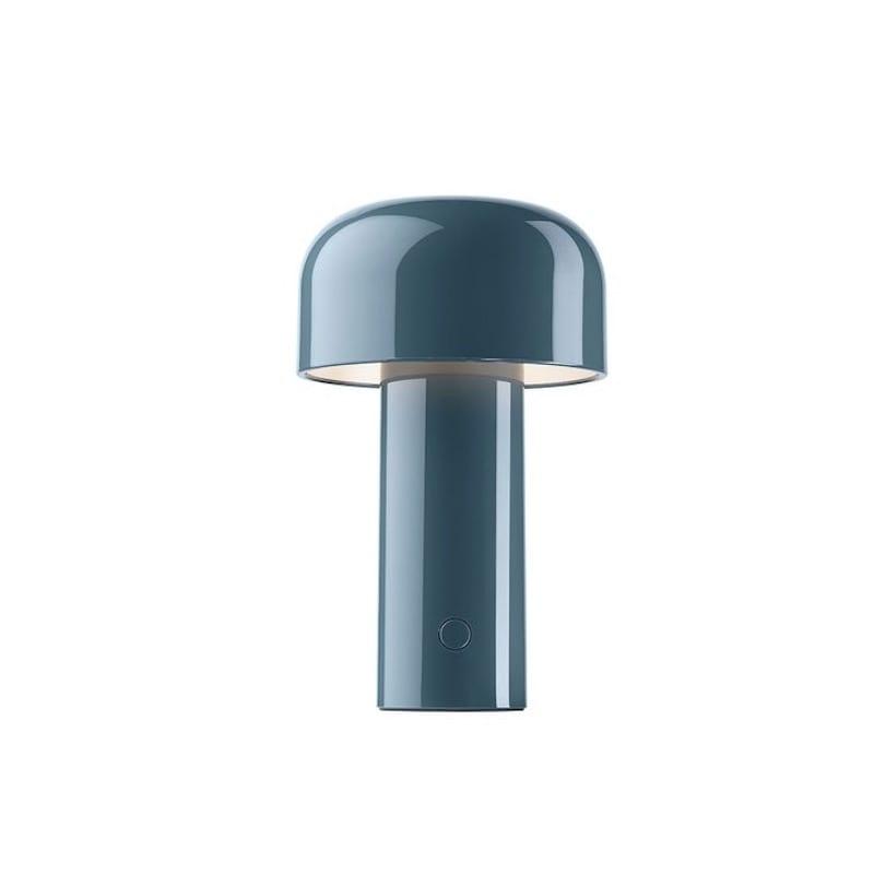 Bellhop bordslampa gråblå