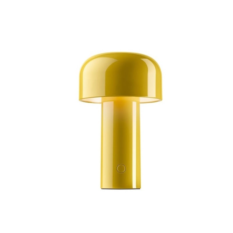 Bellhop bordslampa gul