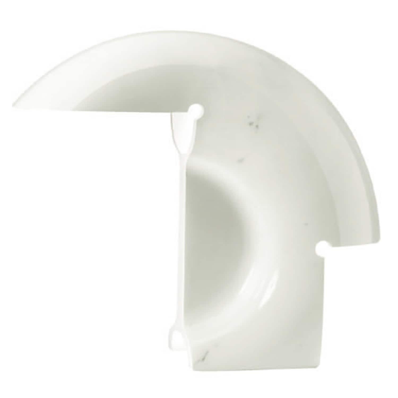 Biagio bordslampa vit marmor