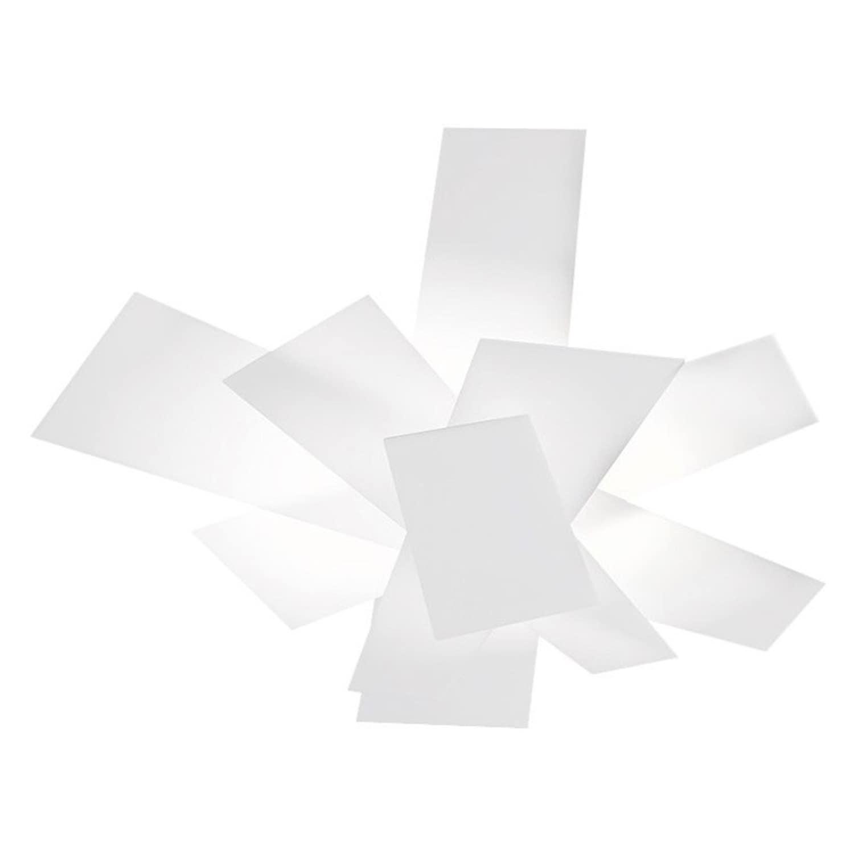Big Bang vägglampa/plafond vit