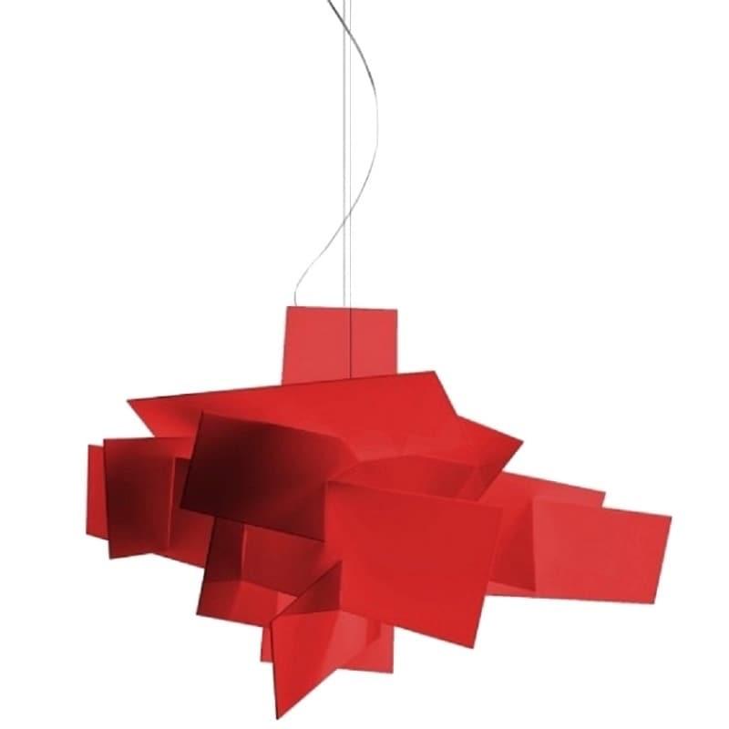 Big Bang taklampa röd R7s