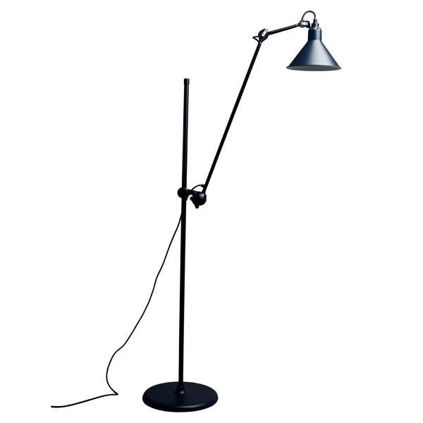N°215 Golvlampa Blå/svart