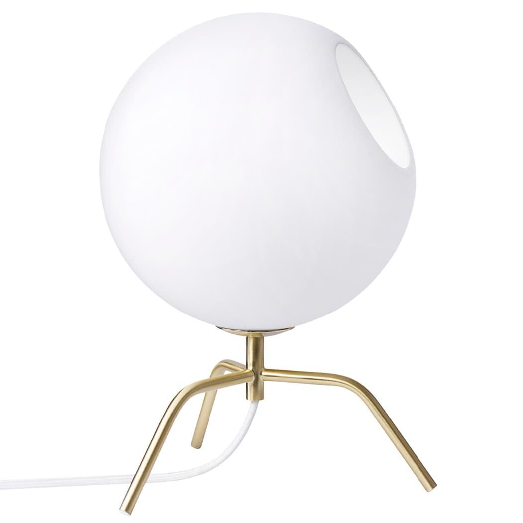 Bug 20 Bordslampa Mässing/opalglas