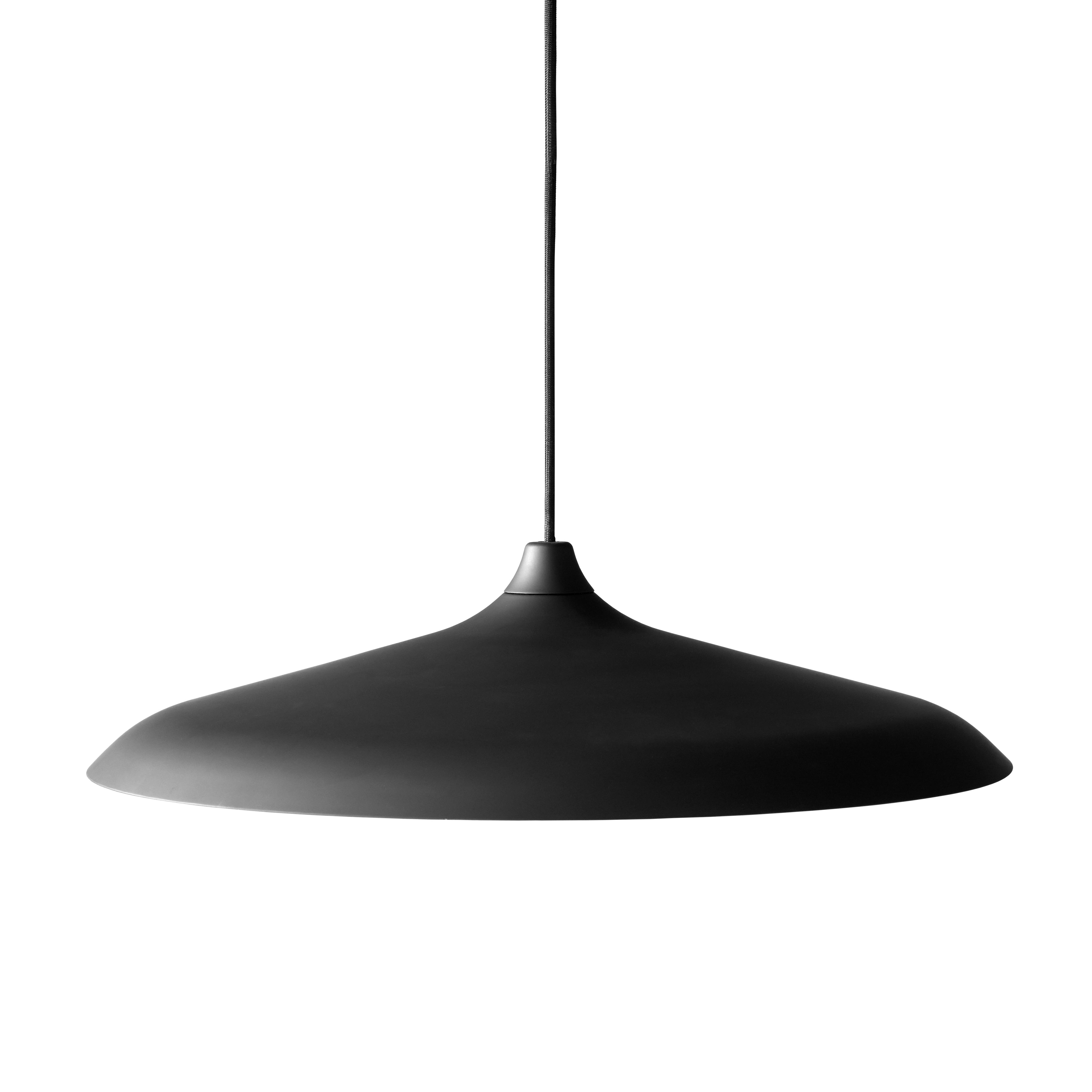 Circular taklampa svart aluminium