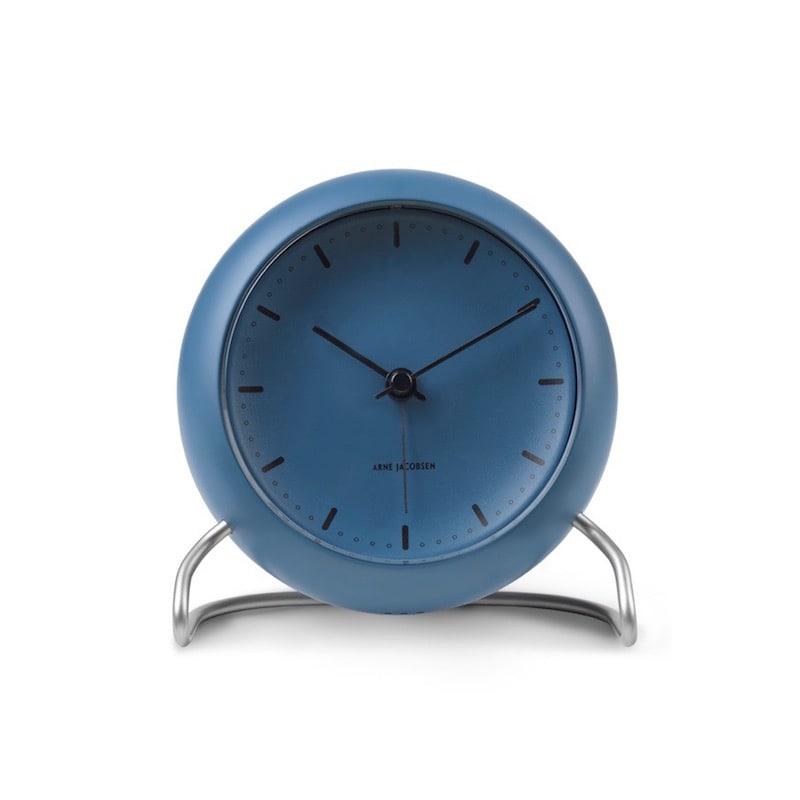 City hall bordsur med alarm stone blue