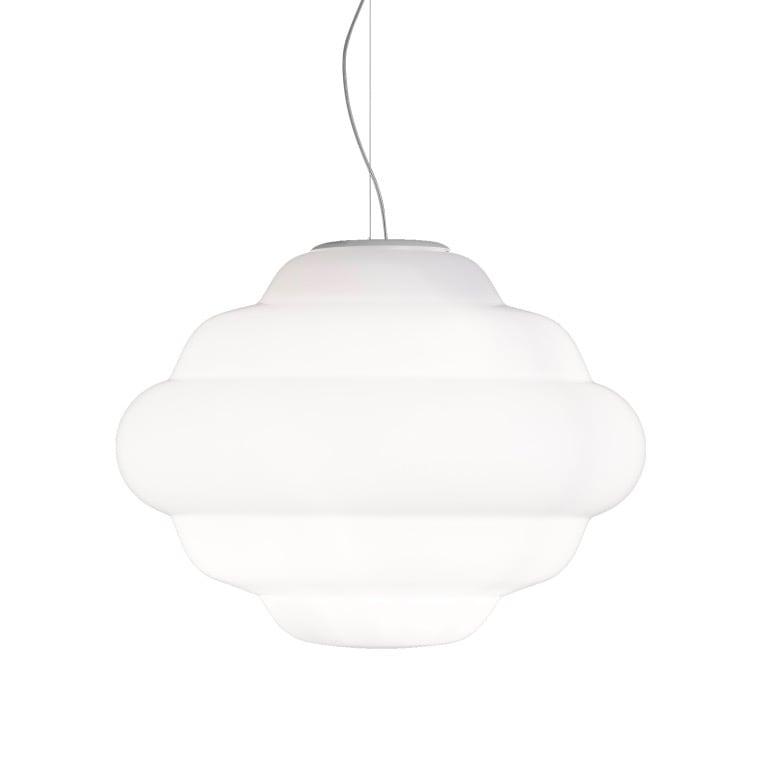 Cloud taklampa vit
