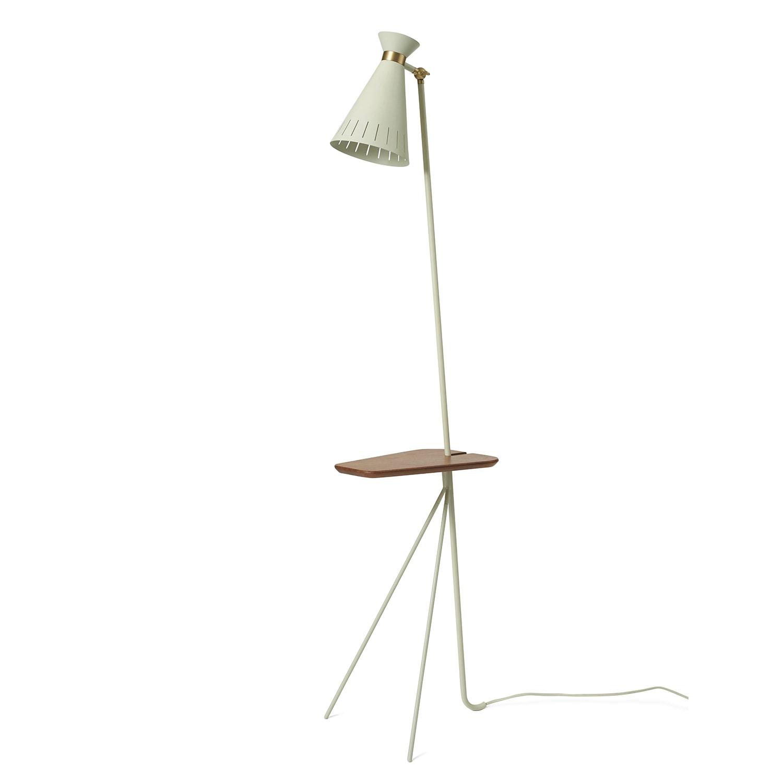 Cone golvlampa med bord warm white