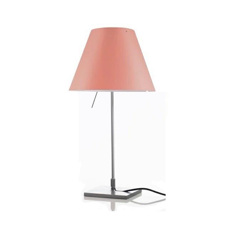 Costanzina D13pi Bordslampa Aluminium, edgy pink