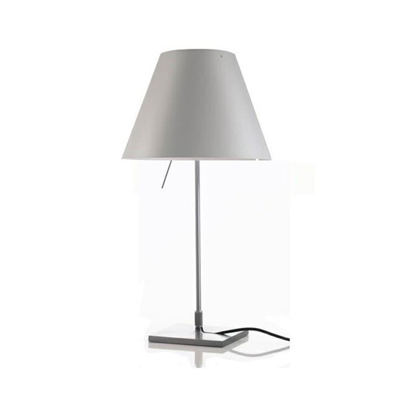 Costanzina D13pi Bordslampa Aluminium, mistic white