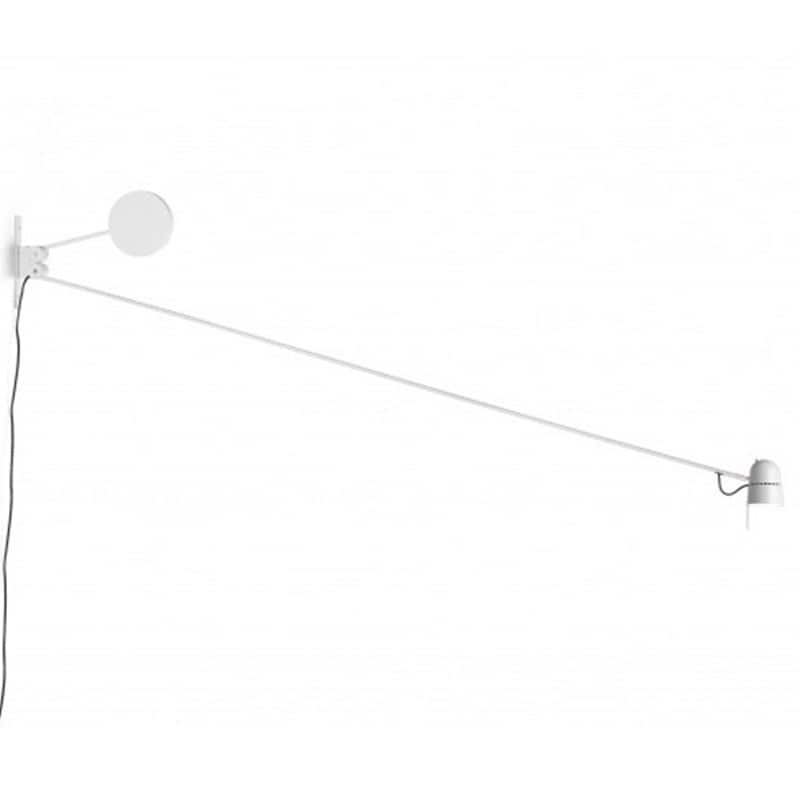Counterbalance D73 Vägglampa vit