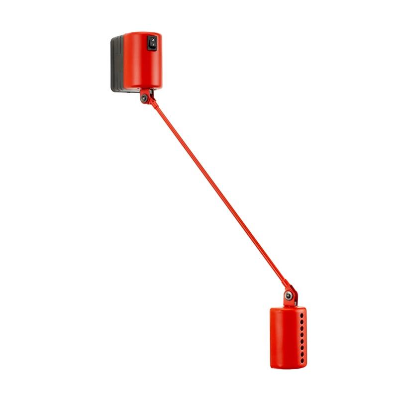 Daphine Parete 20 LED matt red