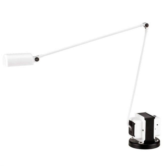 Daphine LED bordslampa matt white