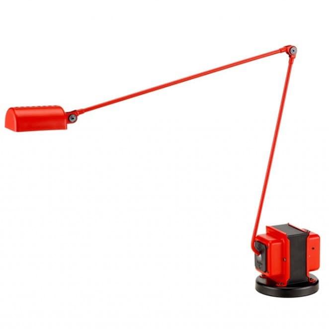 Daphine LED bordslampa matt red