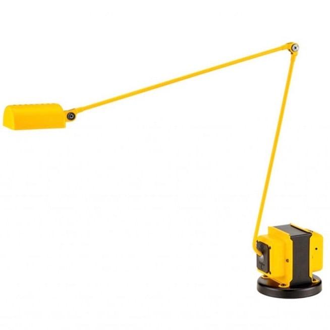 Daphine LED bordslampa matt yellow