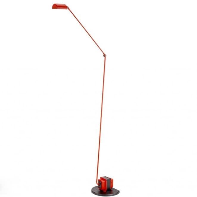 Daphine terra LED golvlampa matt red