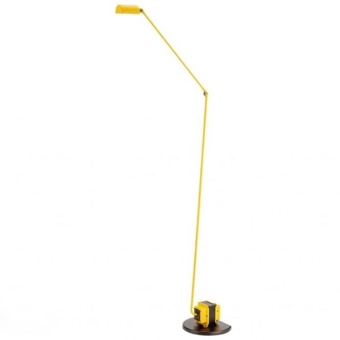 Daphine terra LED golvlampa matt yellow