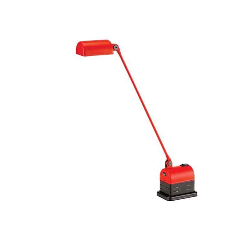 Daphinette LED bordslampa matt red