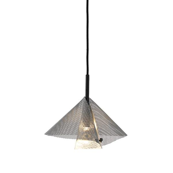 Diffus Ø45 taklampa silver
