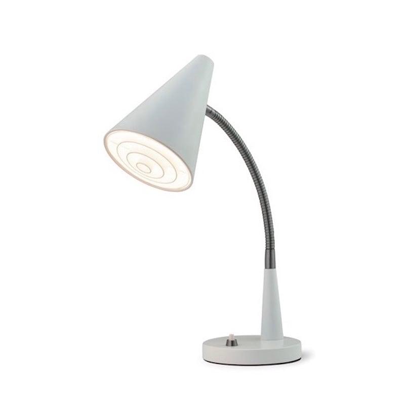 Duet bordslampa vit