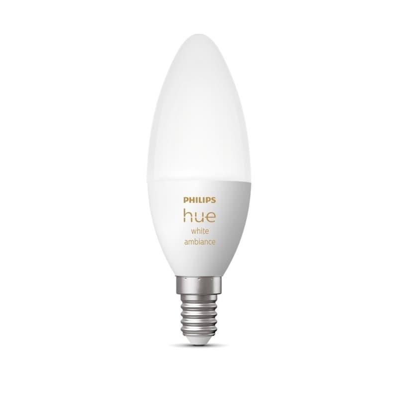 Hue white ambiance Kronljus E14 5.2W