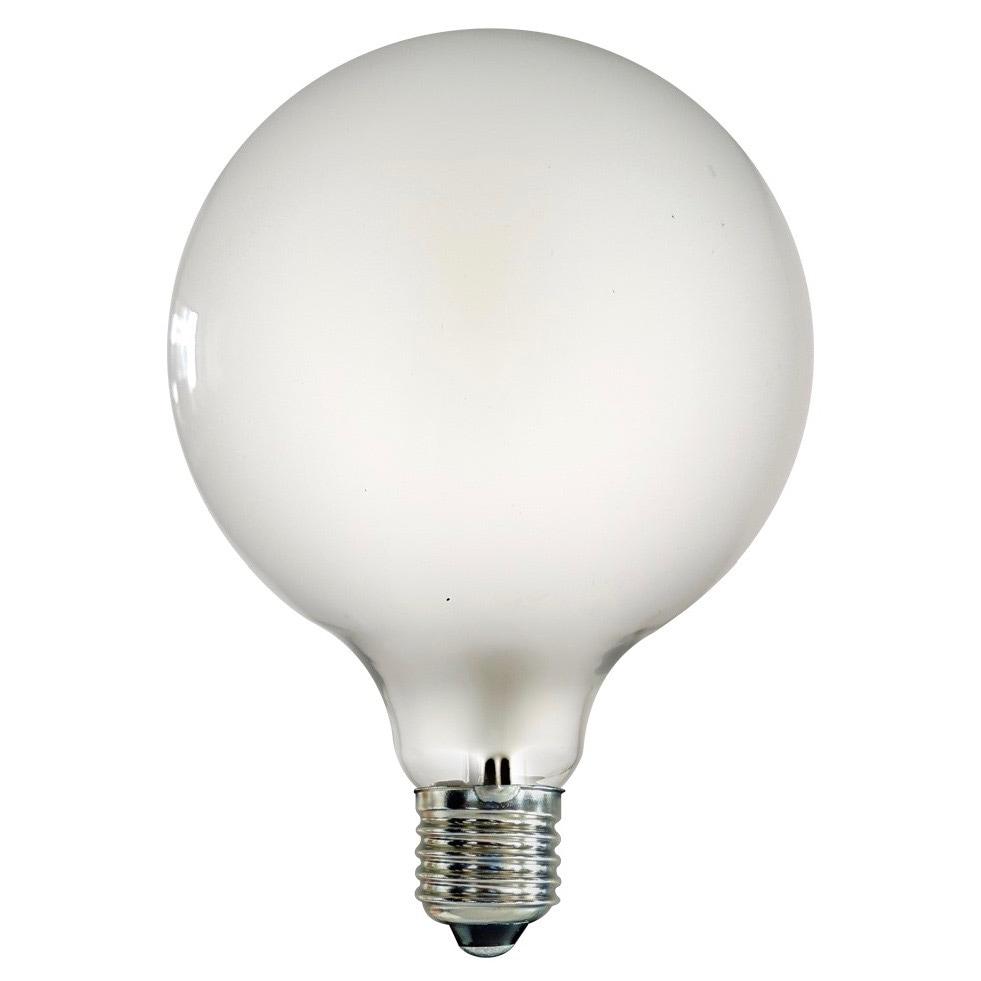 Glödlampa Glob 126mm 40W E27 opal