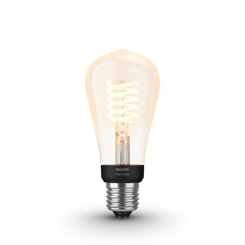 Hue white filament edison E27 7W