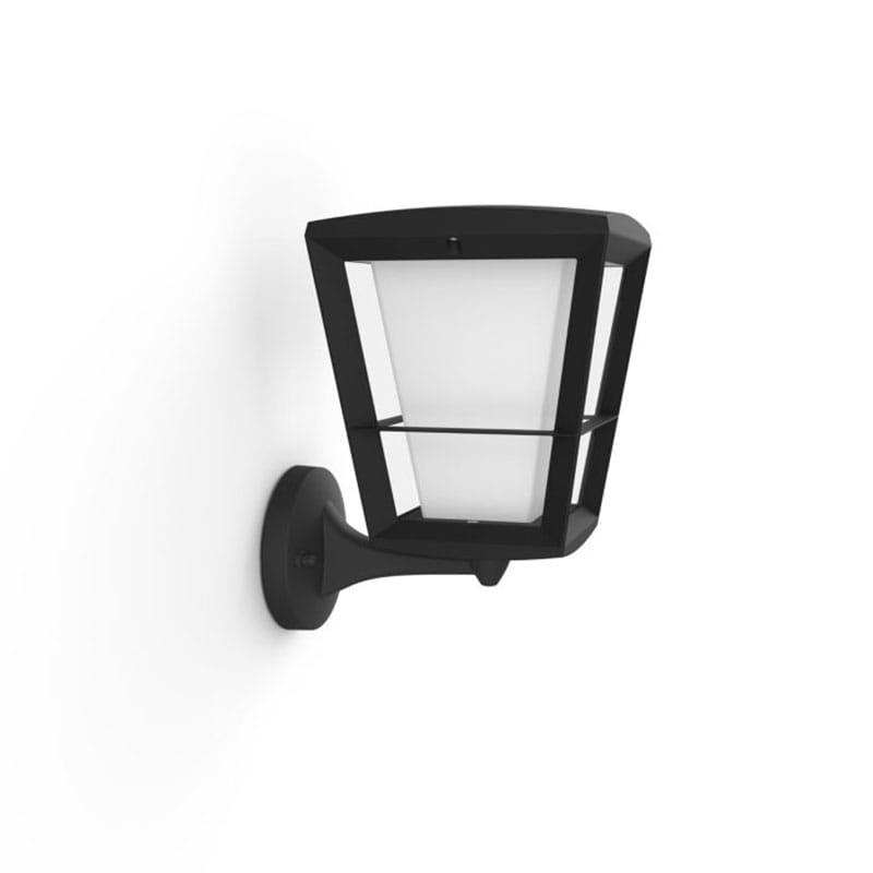 Econic Hue Lantern Upp Vägglampa IP44 Svart