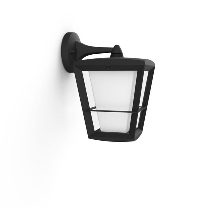 Econic Hue Lantern Ner IP44 Svart