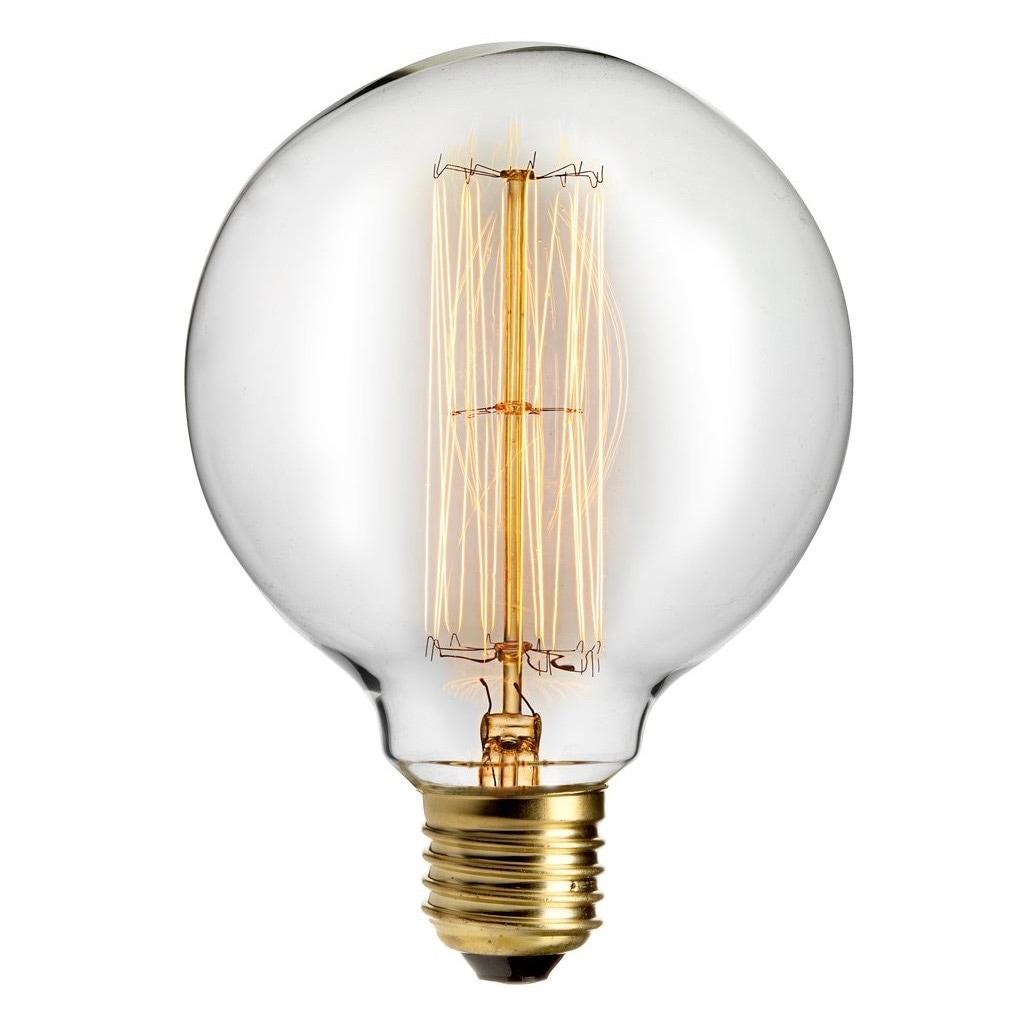 Glödlampa Dekoration 95mm 40W E27