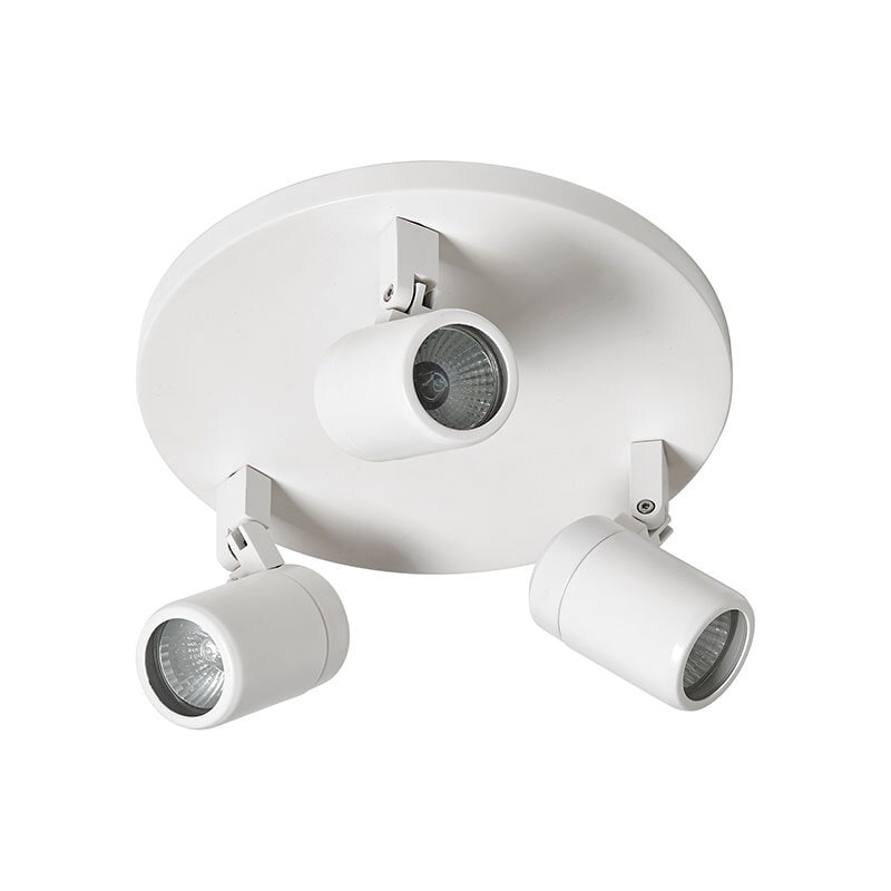 Fårö 3:a taklampa IP44 vit