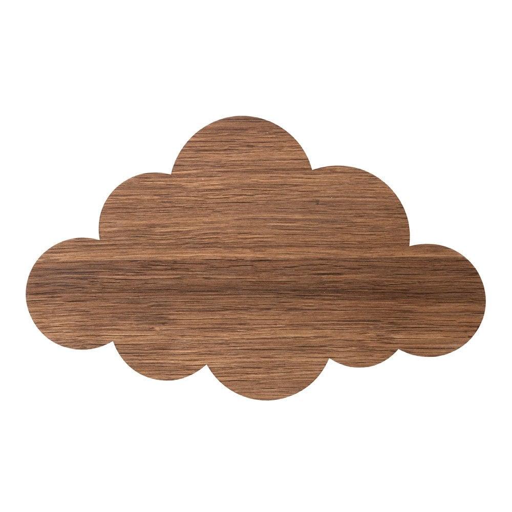 Cloud lamp Smoked Oak vägglampa