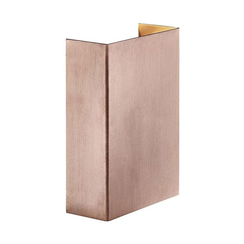Fold 10 vägglampa koppar