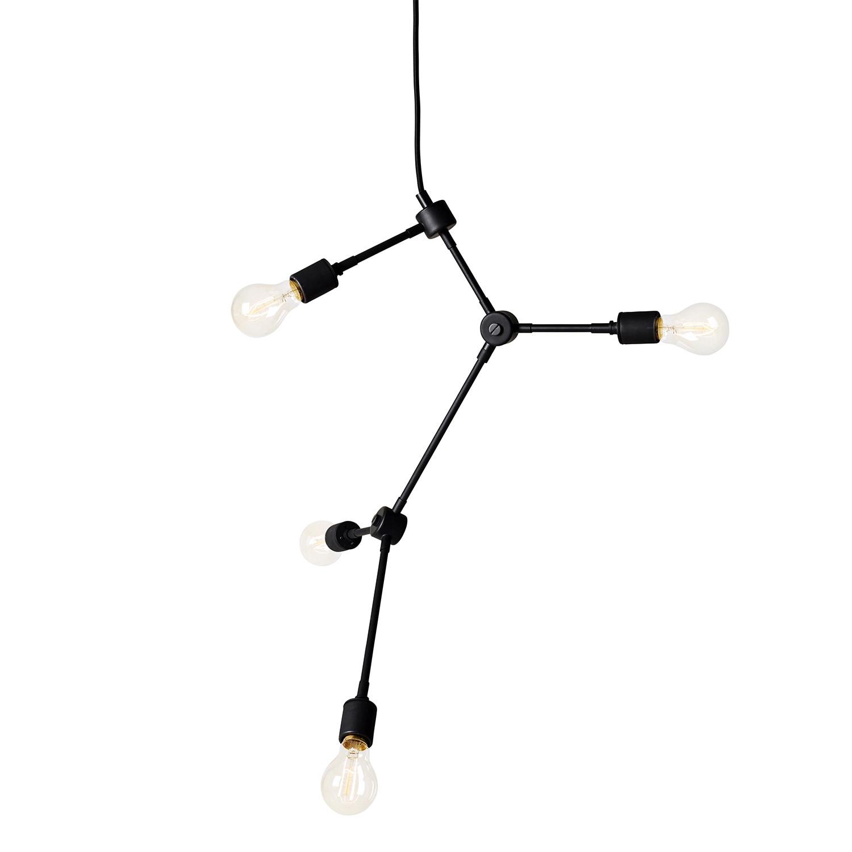 Franklin chandelier Taklampa svart