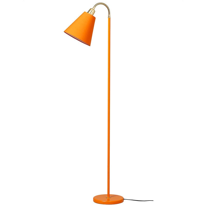 Haga golvlampa orange
