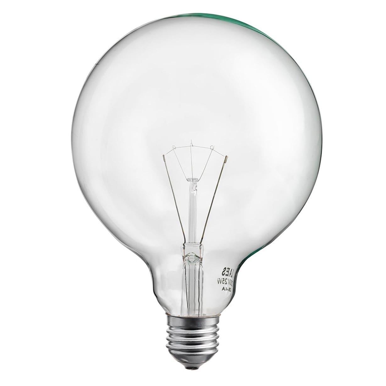 Glödlampa Glob 125mm 40W E27 Klar
