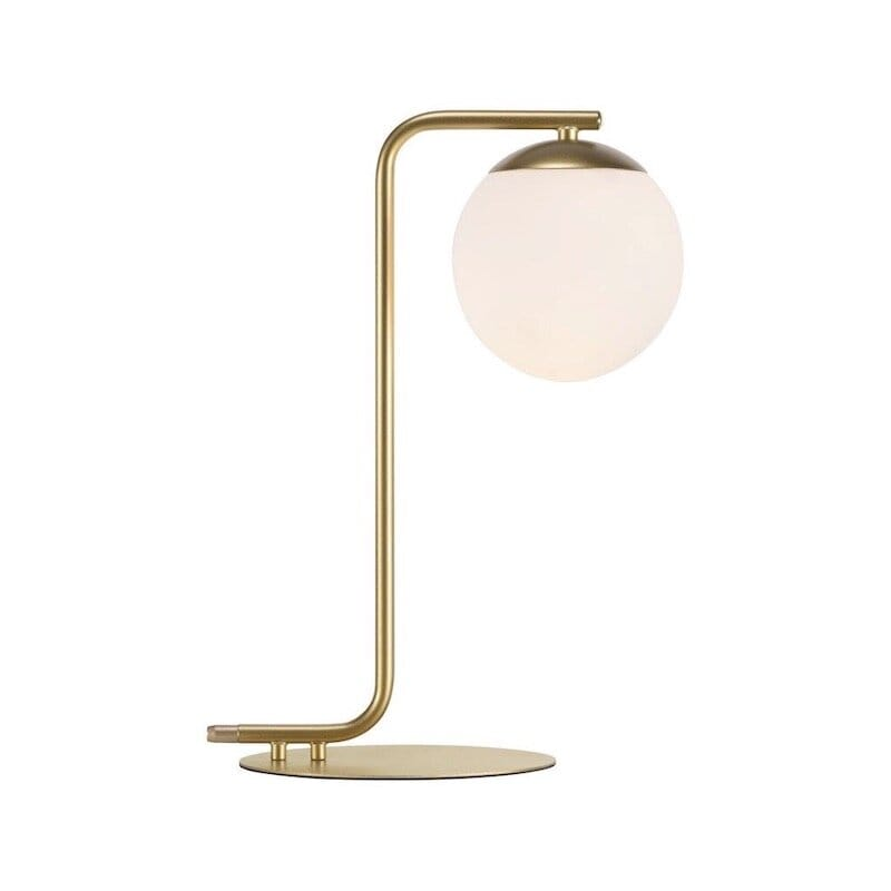 Grant bordslampa mässing/opal