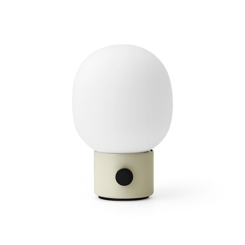 JWDA bordslampa Portable Ø14,4 Alabaster Whit