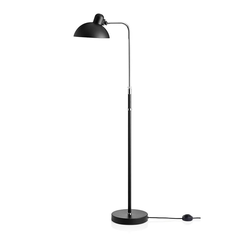 Kaiser idell 6580-F luxus Golvlampa matt svart