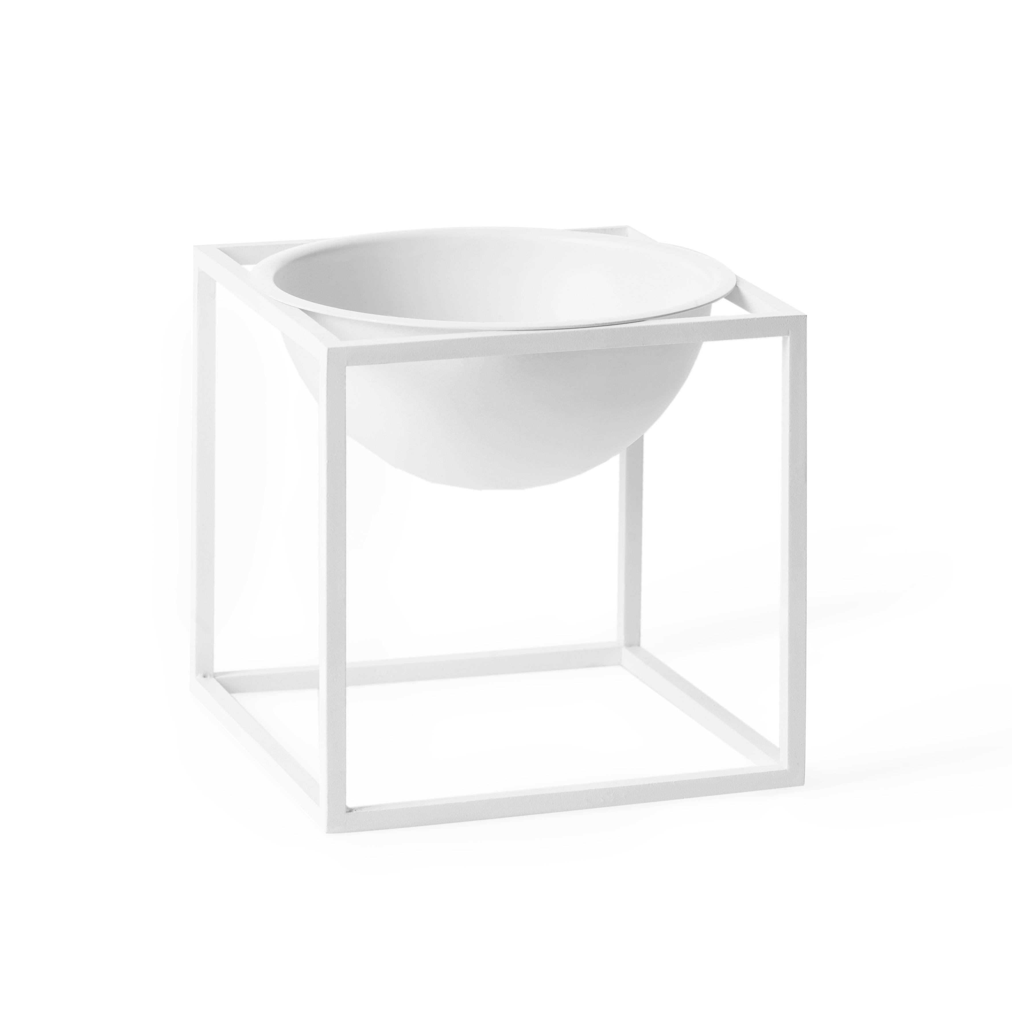 Kubus bowl liten vit