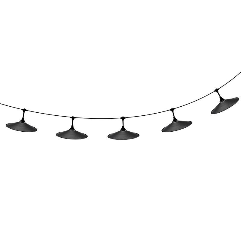 Flex outdoor lamina ljusslinga svart