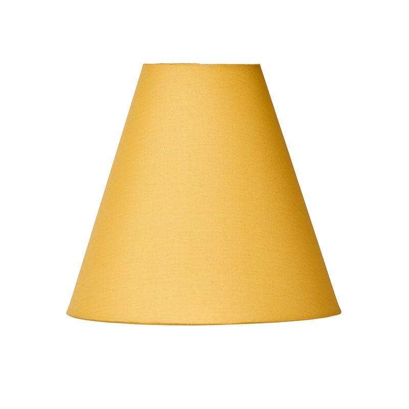 Lilja lampskärm gul