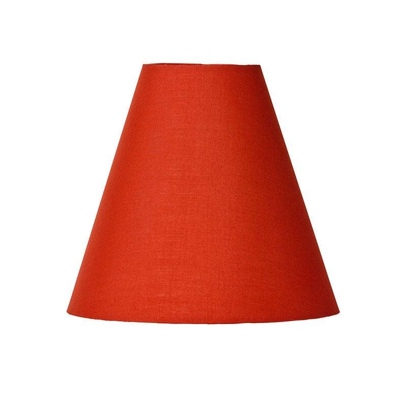 Lilja lampskärm röd