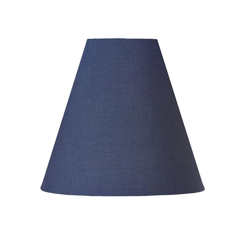 Lilja lampskärm blå