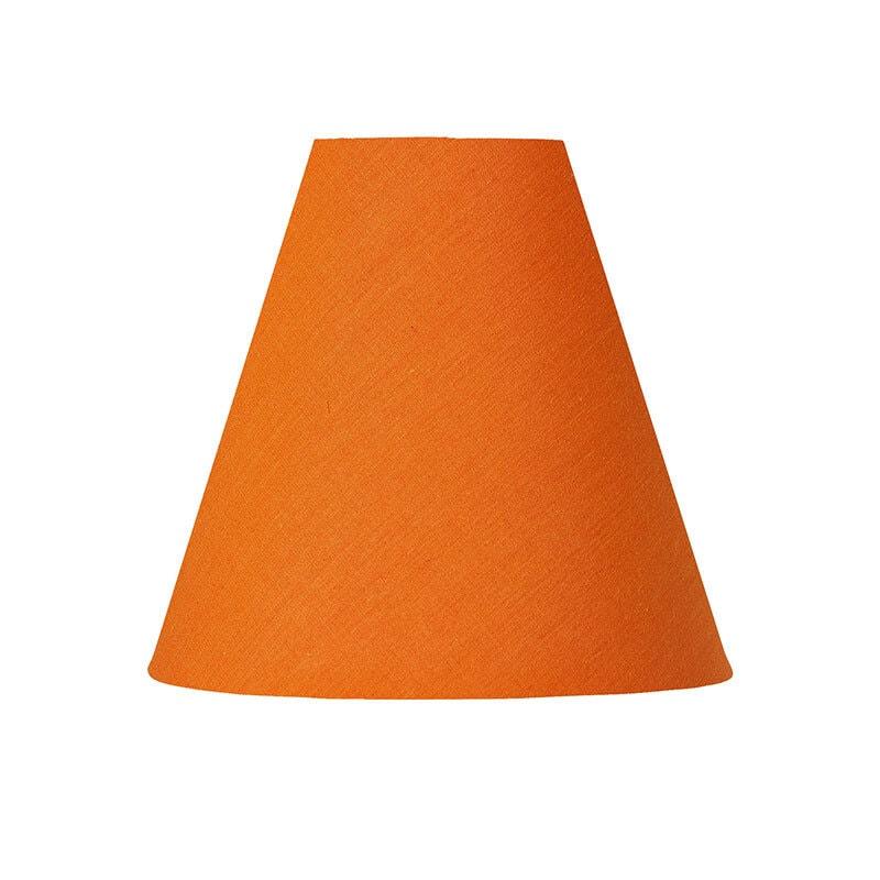 Lilja lampskärm orange