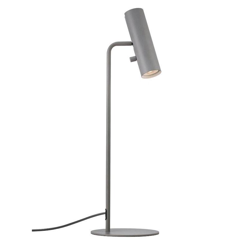 MIB 6 bordslampa grå