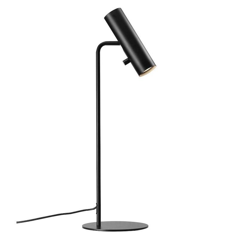 MIB 6 bordslampa svart